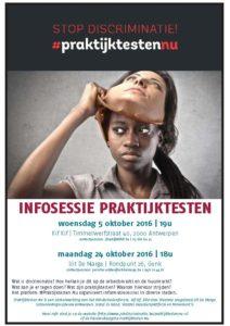 affiche infosessie praktijktestennu - augustus